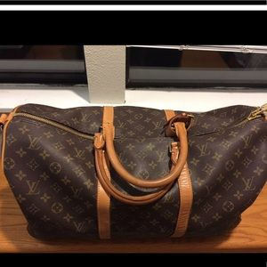 🔥Louis Vuitton Keeper Bandoulier50 MGN Duffle Bag